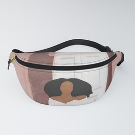 Woman sitting on the porch Fanny Pack
