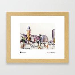 """Marion Rivolier, """"Gare de Lyon"""" Framed Art Print"""