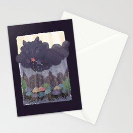 Cloudy Cat Stationery Cards