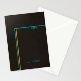 """Tron"" Film Inspired Vintage Movie Poster Stationery Cards"