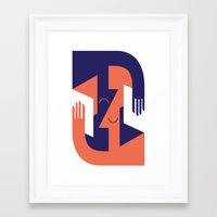 reading Framed Art Prints featuring Reading  by Ana Karina Posadas