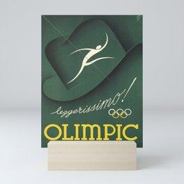 cartello olimpic leggerissimo chapeau Mini Art Print