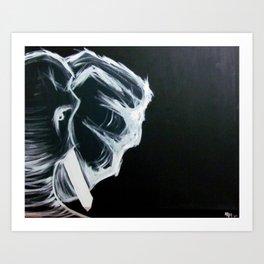 Ndlovu (elephant) Art Print