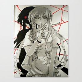 anime: mirai niki drawing Canvas Print