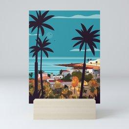 Fuerteventura skyline Mini Art Print