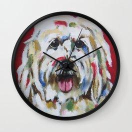 English Sheepdog Wall Clock