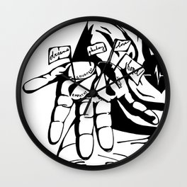 Heartlines Wall Clock