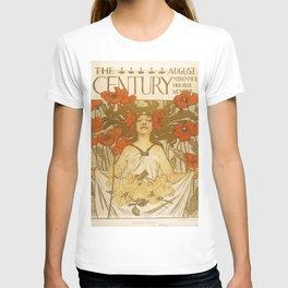 The Century. August - J. C. Leyendecker 1896  T-shirt