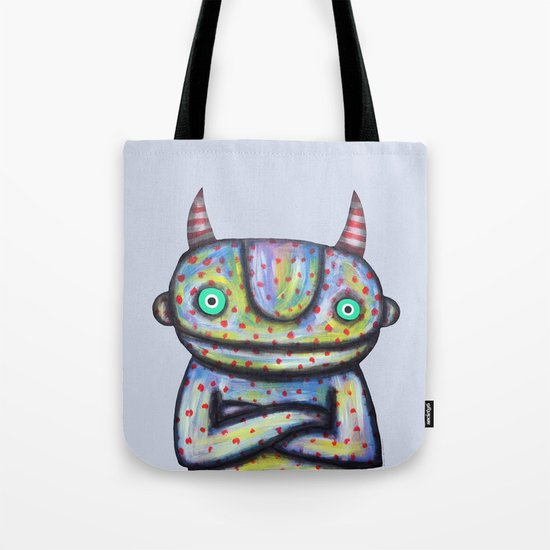 Devil with Good Intentions Tote Bag