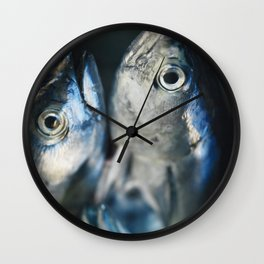 Tuna fish - still life - fine art - photo - print, high quality,macro, interior design, wall decor Wall Clock