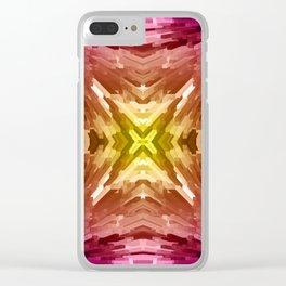 Sunset Burst Clear iPhone Case