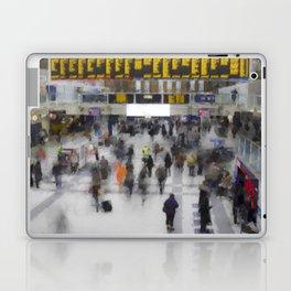 Liverpool Street Station London art Laptop & iPad Skin