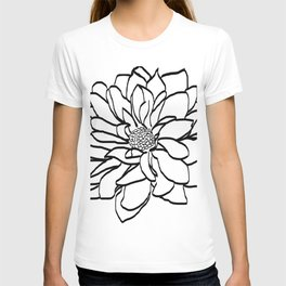 Flower (white) T-shirt