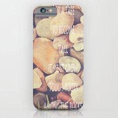 Rocks with words iPhone 6s Slim Case