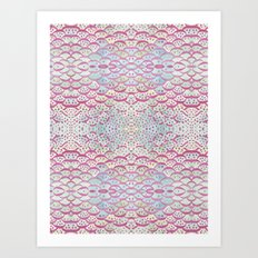 scales and dots Art Print