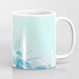 Dreamy and Fresh Palm Blues - Blue and Aqua Coffee Mug