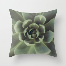 Succulent Throw Pillow