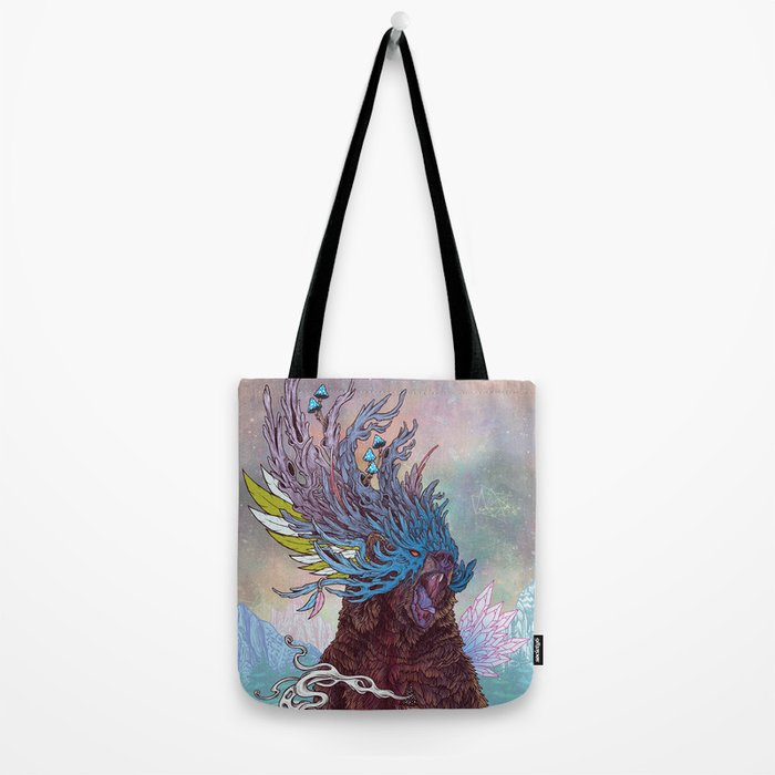 Journeying Spirit (Bear) Tote Bag