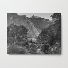 Bright Angel Creek Metal Print
