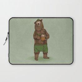 Traditional German Bear Laptop Sleeve