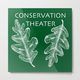Conservation Theater Metal Print