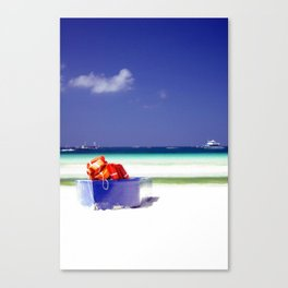 Inviting Canvas Print