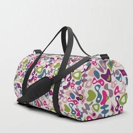 Playful retro Duffle Bag
