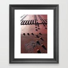 Rivets Framed Art Print