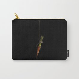 Vegetable Vanitas: The Carrot Painting by Brooke Figer Carry-All Pouch