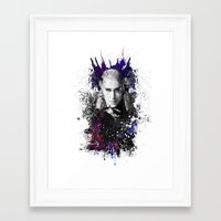 thranduil Framed Art Prints featuring Thranduil by Ryky
