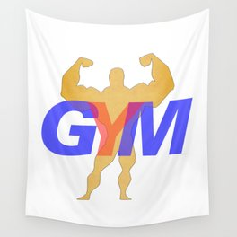 GYM Man 1 Wall Tapestry