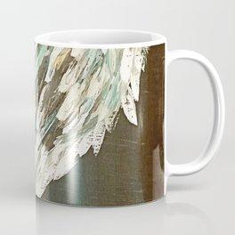 Vintage Angel Wing Up High - Right Coffee Mug