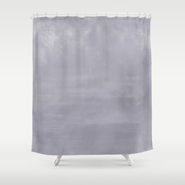Burst of Color Pantone Lilac Gray Abstract Watercolor Blend Shower Curtain