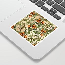 Vintage Fruit Pattern Sticker