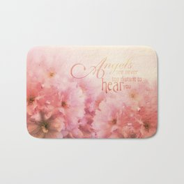 Pink Cherry Blossom for Angels Bath Mat