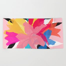 lily 14 Beach Towel