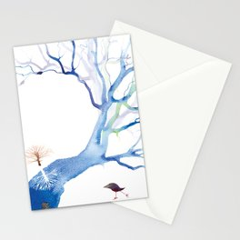 SKATING THE RIVERTREE Stationery Cards