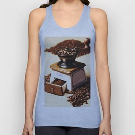 coffee grinder 4 Unisex Tank Top