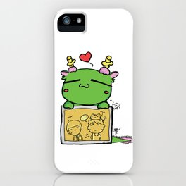 Kuma the dragon iPhone Case