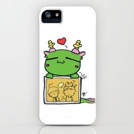 Kuma the dragon iPhone Case