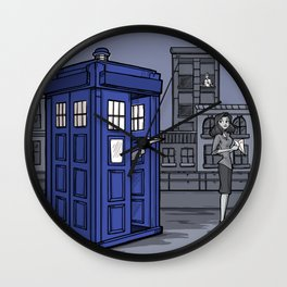 PaperWho Wall Clock