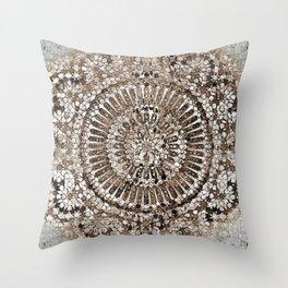 MANDALA KAMALAMAI Throw Pillow
