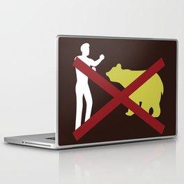 Don't Fistfight the Bears Laptop & iPad Skin