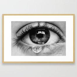Tears For Fish Framed Art Print