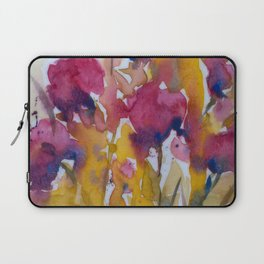 Abstract flowers (2) Laptop Sleeve