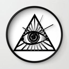 Illuminati eye Wall Clock