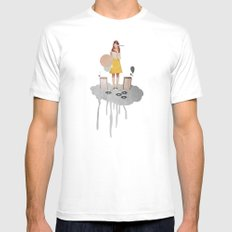 ON / ... | Collage White MEDIUM Mens Fitted Tee