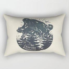 Craving wanderlust II Rectangular Pillow