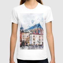 Cracow art 21 #cracow #krakow #city T-shirt