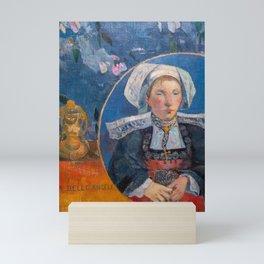 Paul Gauguin - The Beautiful Angel, Pont-aven Mini Art Print